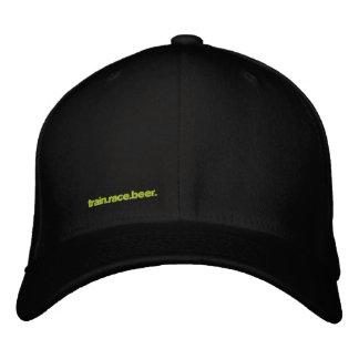 TRAIN.RACE.BEER. chapéu do Cabo-ajustado Boné Bordado