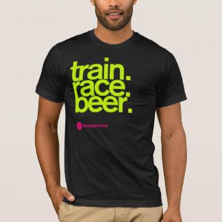 TRAIN.RACE.BEER. T-shirt Camiseta
