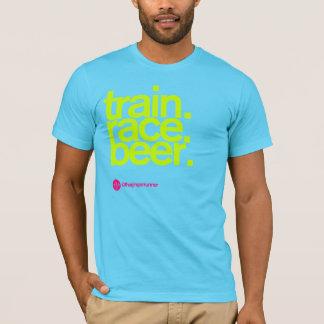 TRAIN.RACE.BEER. T-shirt do AA Camiseta
