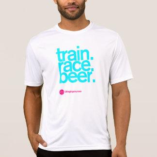 TRAIN.RACE.BEER. T-shirt Running cabido Camiseta