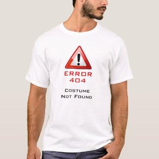 Traje 404 não encontrado camiseta