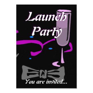 Traje de cerimónia do partido do lançamento da convite