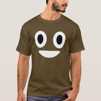 Traje de Emoji o Dia das Bruxas do tombadilho Camiseta