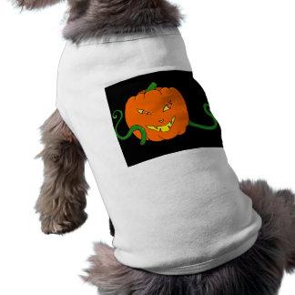 Traje do cão da abóbora do Dia das Bruxas Roupa Para Pet