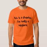 Traje do Capybara Tshirt