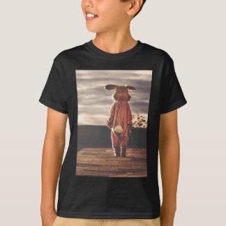 Traje do coelhinho da Páscoa Camiseta