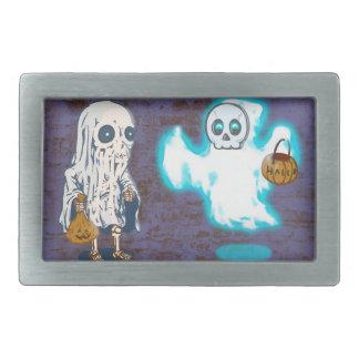 Traje do fantasma e do esqueleto