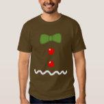 Traje do homem de pão-de-espécie camisetas
