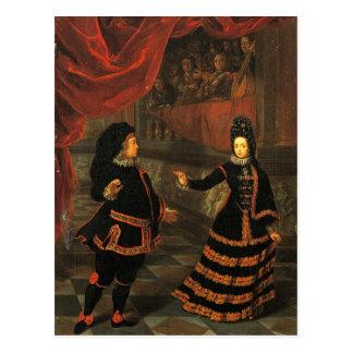 Traje espanhol cartão postal