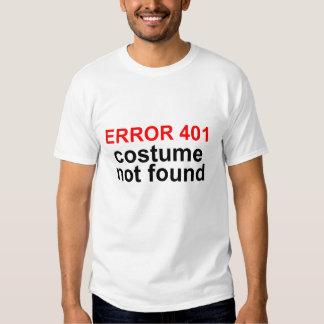 Traje não encontrado, geek T do erro 404 do Camiseta