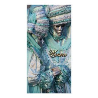 Trajes do casal do vestido de fantasia cartão com foto