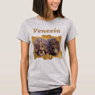 Trajes pródigos do carnaval de Veneza Camiseta
