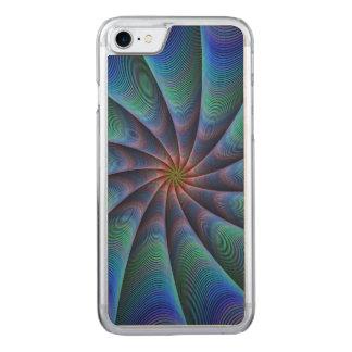 Trajeto à meditação capa iPhone 7 carved
