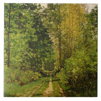 Trajeto arborizado de Claude Monet |