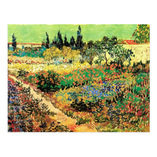 Trajeto de florescência do jardim de Van Gogh, Cartões Postais