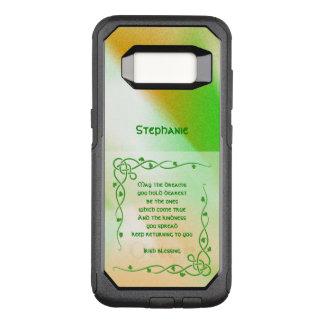 : Tranças celtas da bênção irlandesa (#1) Capa OtterBox Commuter Para Samsung Galaxy S8