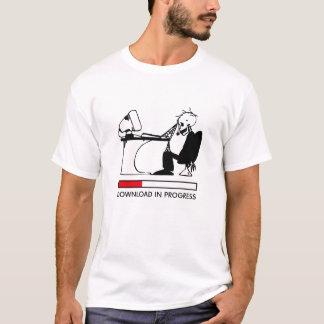 Transferência em andamento camiseta
