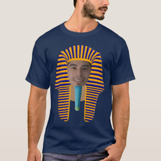 Transforme-se em um t-shirt egípcio do faraó! camiseta