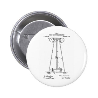 Transmissão Pantent US1119732 da energia de Nikola Bóton Redondo 5.08cm