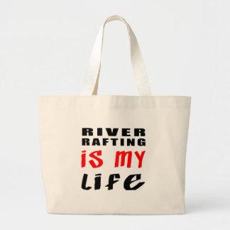 Transportar de rio é minha vida bolsa para compras