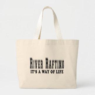 Transportar de rio é modo de vida bolsas para compras
