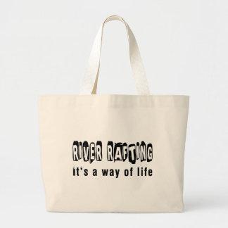Transportar de rio é um modo de vida bolsa para compras