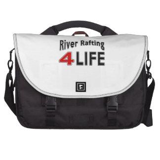 Transportar de rio para a vida pasta para laptop