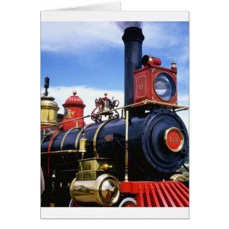 Transporte 144 cartão comemorativo