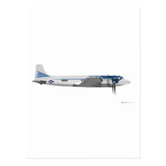 Transporte presidencial de Douglas C-54 Cartão Postal