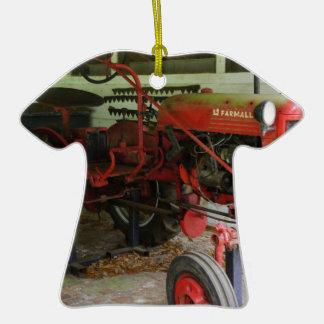 Trator de Geórgia Ornamento De Cerâmica Camiseta