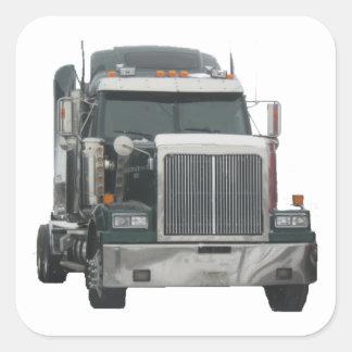Trator do caminhão adesivo