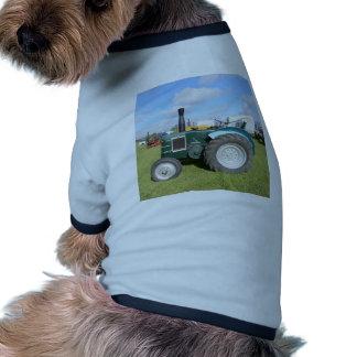Trator do diesel do vintage camiseta para cães