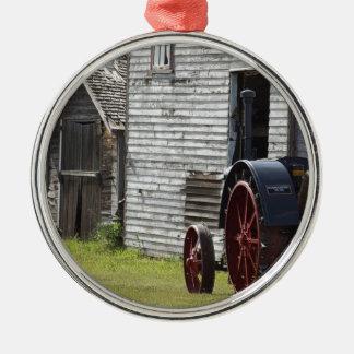trator do vapor 1800's ornamento de metal