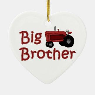 Trator do vermelho do big brother enfeite