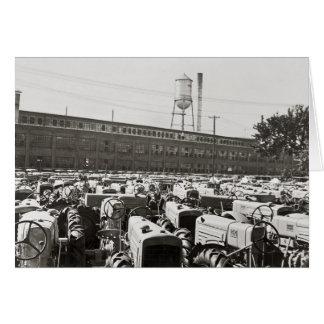 Tratores de Minneapolis-Moline: 1939 Cartão Comemorativo