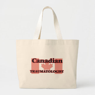 Traumatologist canadense sacola tote jumbo