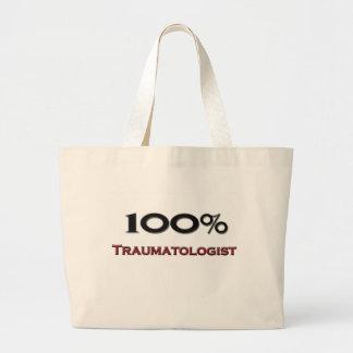 Traumatologist de 100 por cento sacola tote jumbo