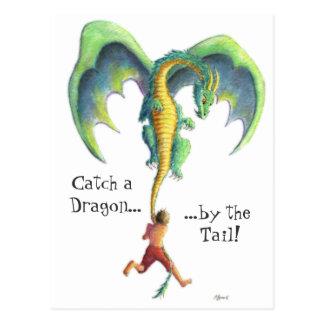 Trave um cartão do dragão