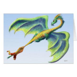 Trave um dragão 2 - cartão da graduação