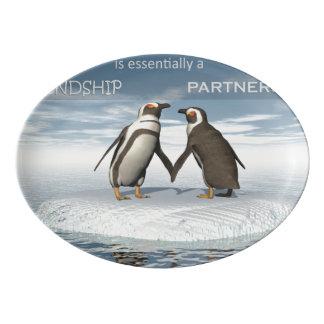 Travessa De Porcelana A amizade é essentailly uma parceria