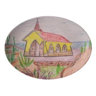 Travessa De Porcelana Aruba