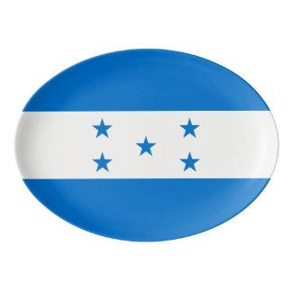 Travessa De Porcelana Bandeira de Honduras