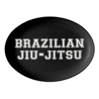 Travessa De Porcelana Brasileiro Jiu Jitsu