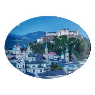 Travessa De Porcelana Cidade de Salzburg, Áustria