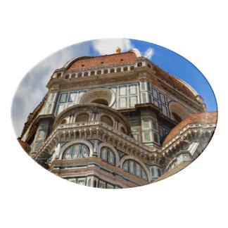 Travessa De Porcelana Domo, em Florença, Toscânia, Italia