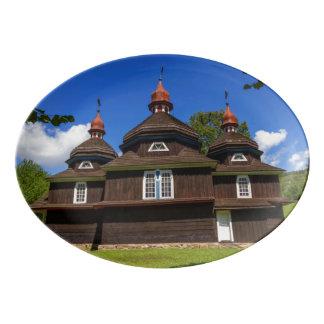Travessa De Porcelana Igreja Católica grega, Nizny Komarnik, Slovakia