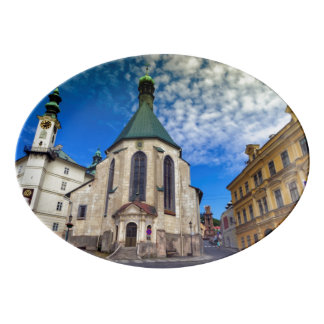 Travessa De Porcelana Igreja de St. Catherine, Banska Stiavnica,