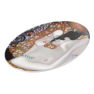 Travessa De Porcelana Meu Klimt Serie: Mãe & criança