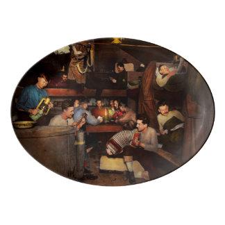 Travessa De Porcelana Música - sessão de doce 1918