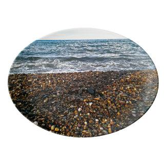 Travessa De Porcelana Pebble Beach